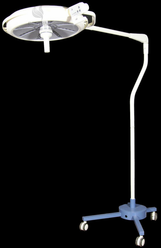 Mobile led surgical lamp