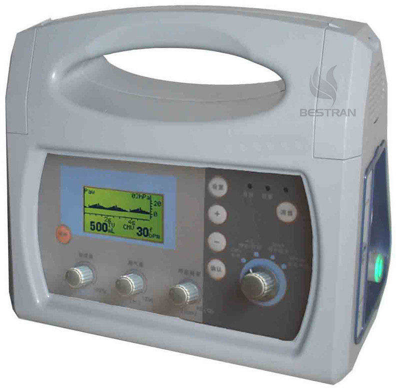 First aid ambulance ventilator
