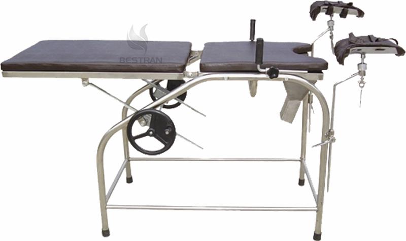 Manual gynecology table