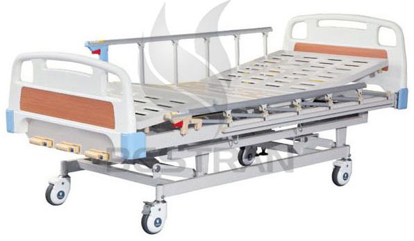 3-Crank Manual Hospital Bed