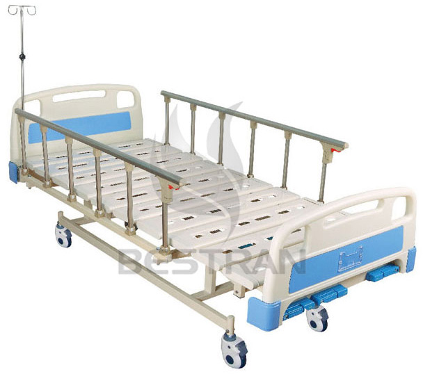 3-function manual medical bed