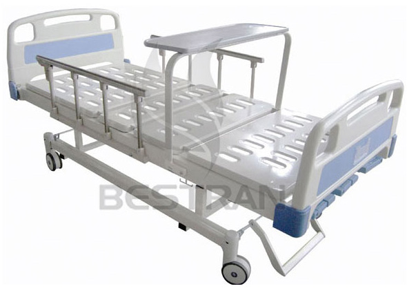 3-function manual patient bed