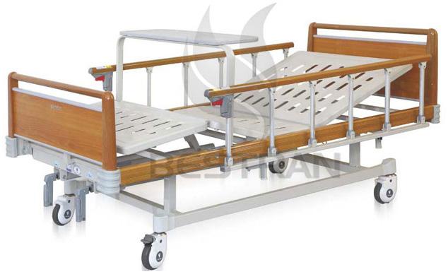 2-Crank Manual Hospital Bed