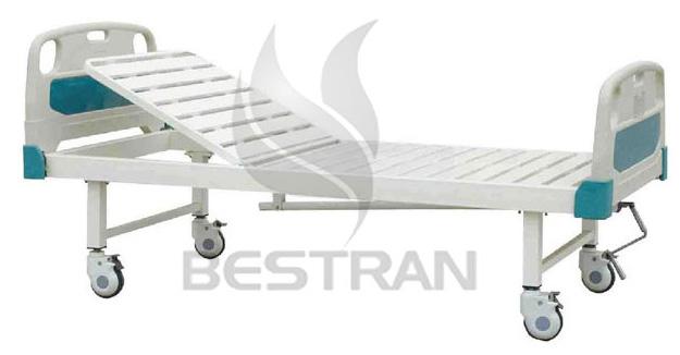 1-Crank Manual Hospital Bed