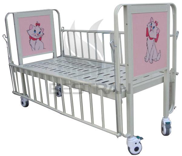1-Crank Manual Pediatric bed