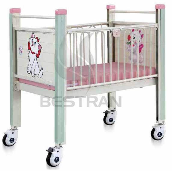 Flat Hospital Pediatric Bed