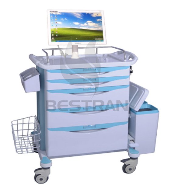 Computer Workstation Trolley