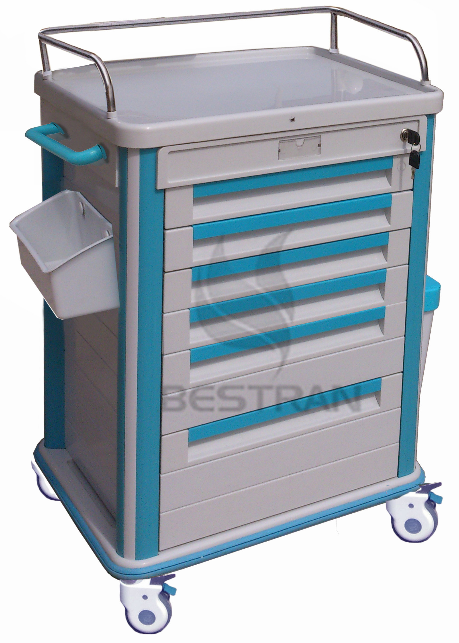 ABS Medicine Trolley