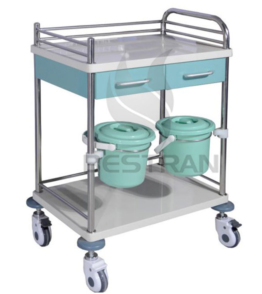 Steel Clinical Trolley