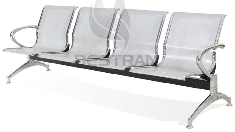 4-seat Steel Waiting Chair