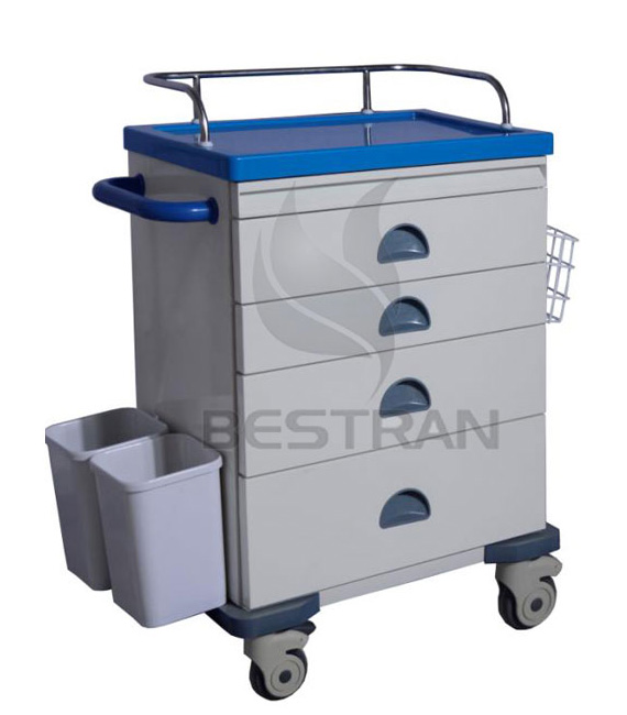 Steel Anesthesia Trolley