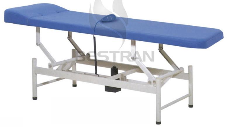 hydraulic examination bed