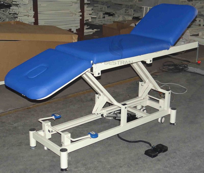 3-section electric examination table