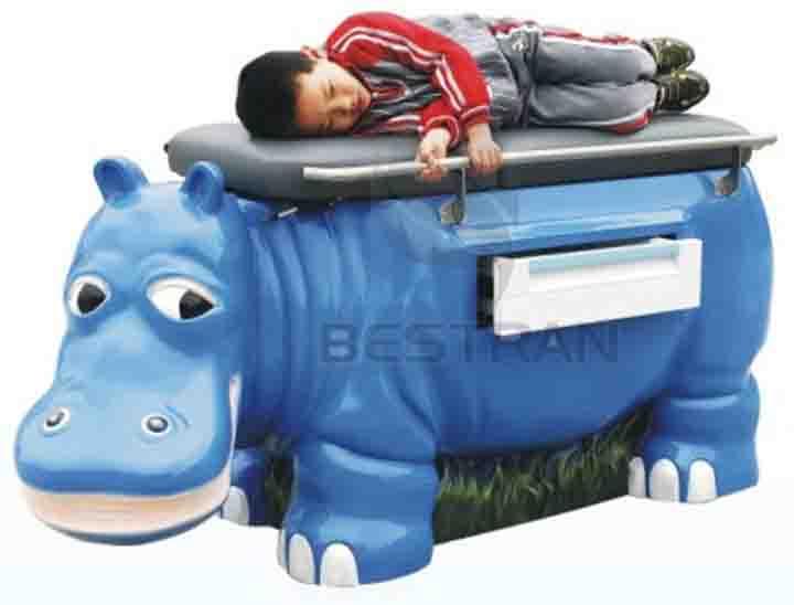 Pediatric examination couch