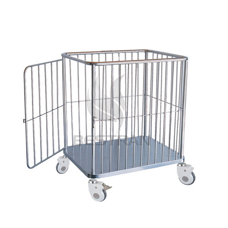 Trolley for dirty clothes