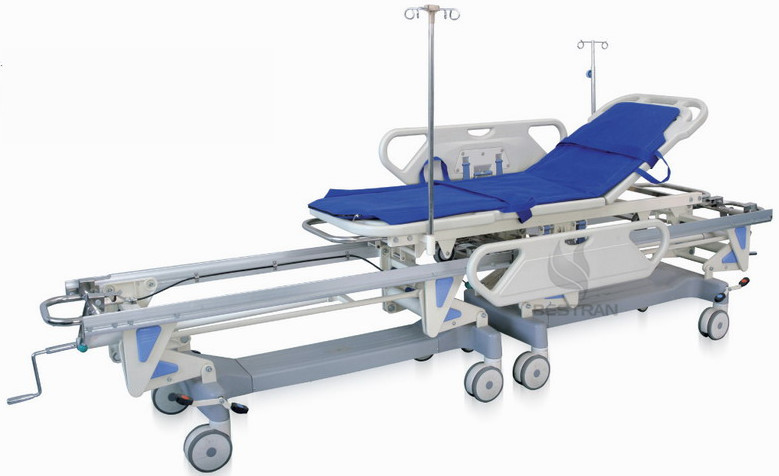 Operating room connecting stretcher