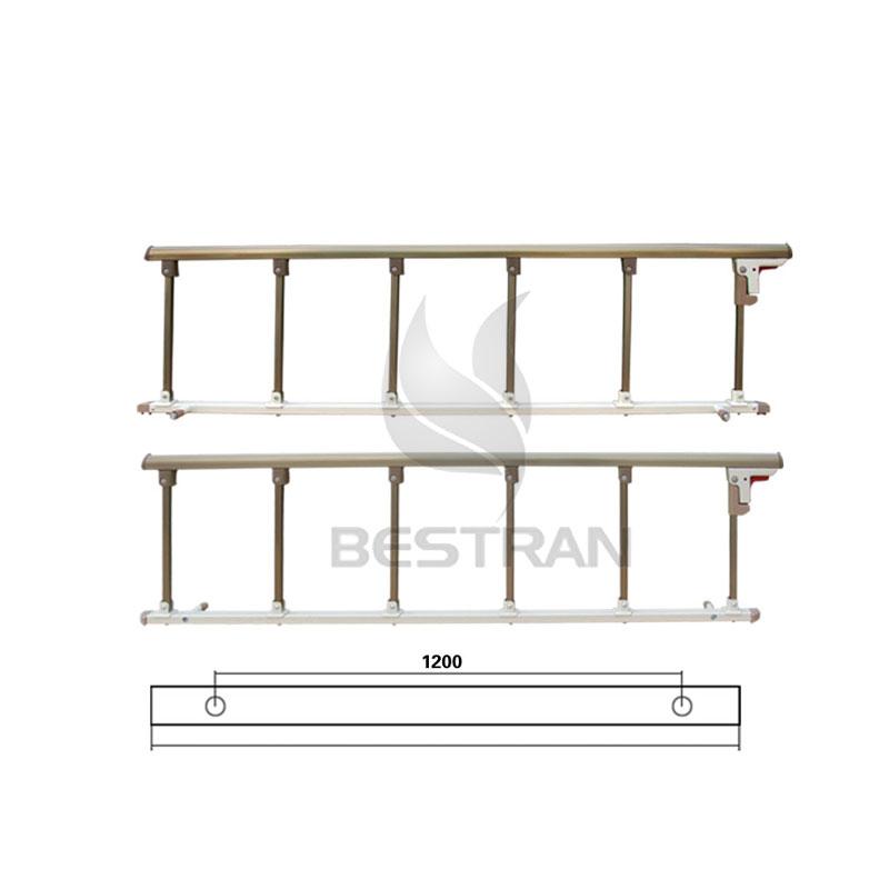 Al-alloy side rail