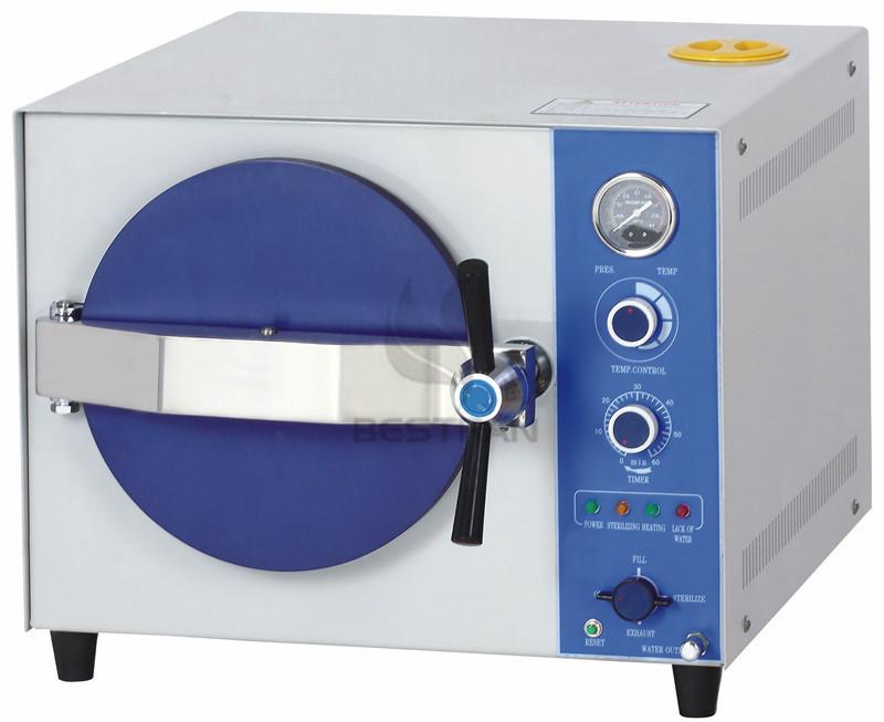 Table top steam sterilizer