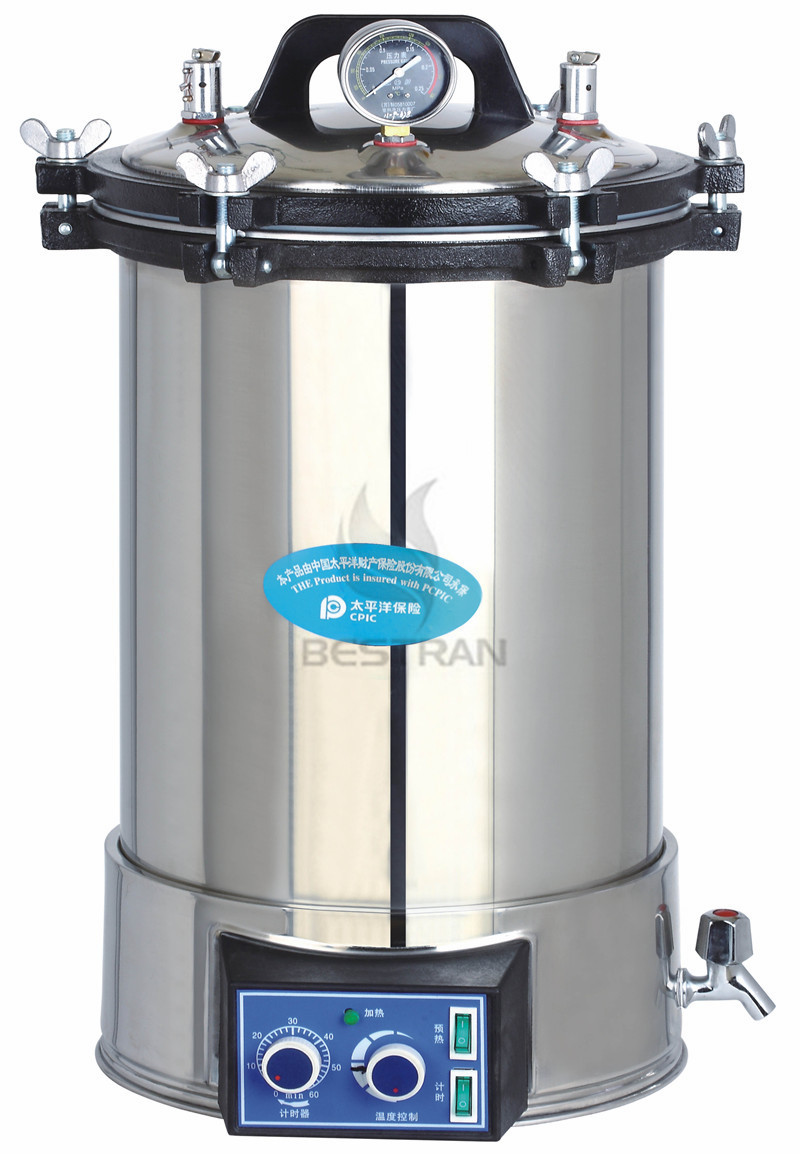 Portable Pressurel steam sterilizer