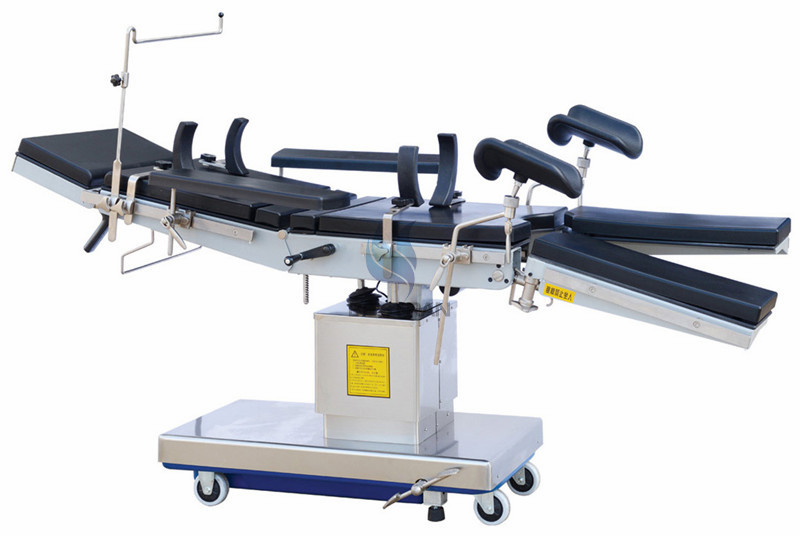 Electric-motor operating table