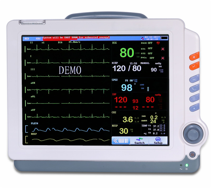 12″ Patient Monitor (Touch Screen)