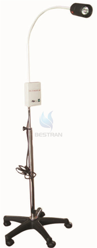 halogen examination lamp with bettery