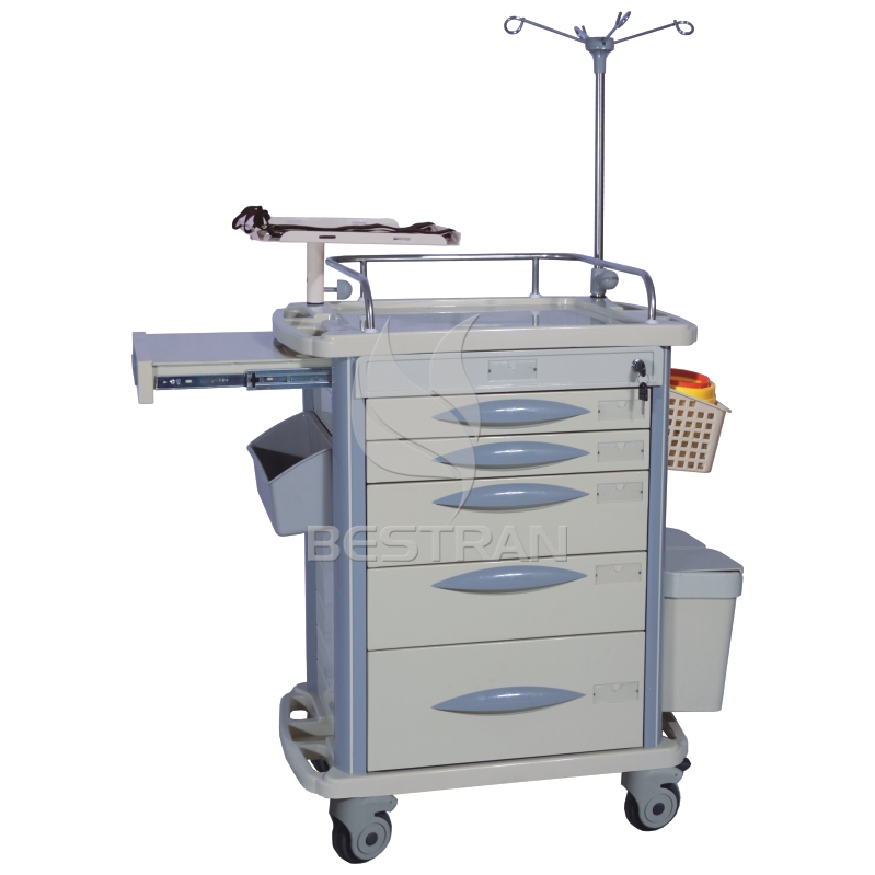 Hospital carsh Emergency Trolley