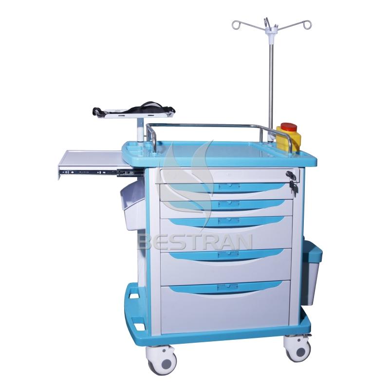 Hospital medical Emergency Trolley