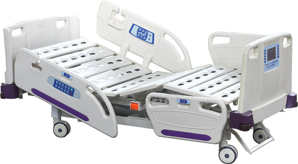 5-function electric icu bed