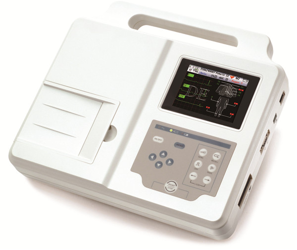 3-Channel ECG Machine