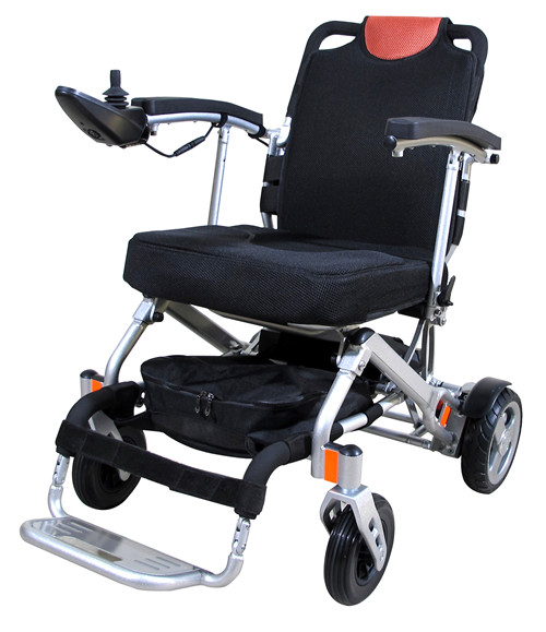 可折叠电动轮椅