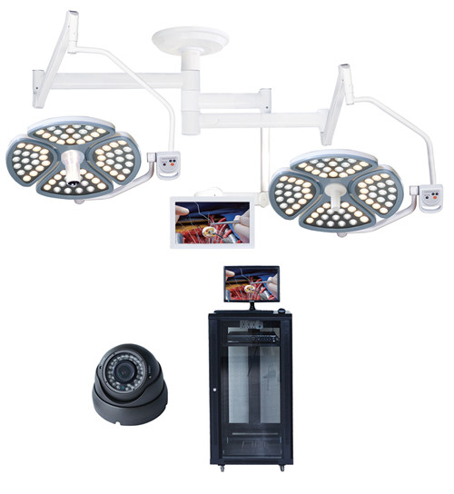 LED操作灯带摄像头和监视器