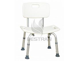 Al-alloy shower chair